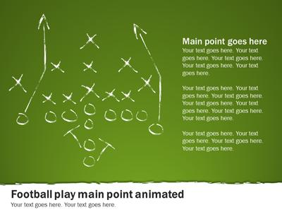 Football playbook a powerpoint template from presentermedia powerpoint template loading preview close maxwellsz