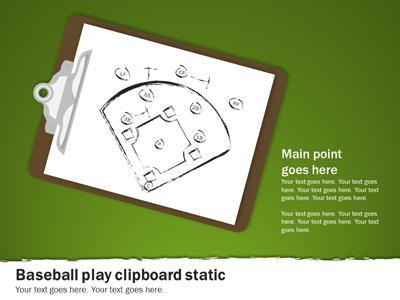 Baseball Playbook - A PowerPoint Template from PresenterMedia.com