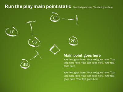 Baseball playbook a powerpoint template from presentermedia powerpoint template loading preview close toneelgroepblik Gallery
