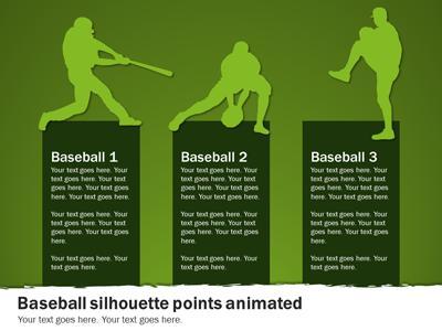 baseball playbook a powerpoint template from presentermedia com
