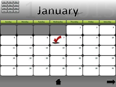 Calendar interactive 2015 a powerpoint template from calendar interactive 2015 a powerpoint template from presentermedia toneelgroepblik Image collections