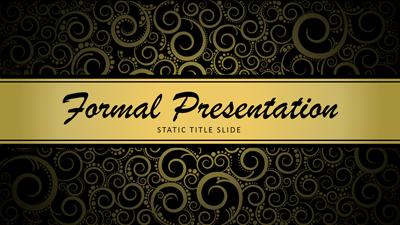 Formal presentation a powerpoint template from presentermedia toneelgroepblik Image collections