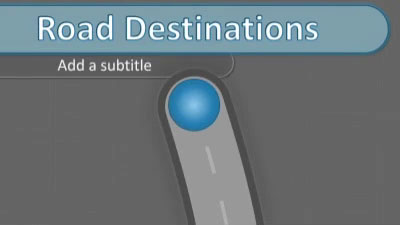 ID# 16563 - Road Destination Interactive - PowerPoint Template