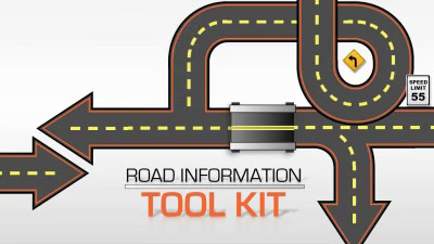 ID# 16988 - Road Information Tool Kit - PowerPoint Template