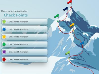 Climbing the mountain a powerpoint template from presentermedia toneelgroepblik Gallery