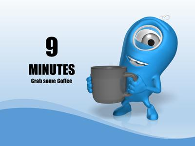 countdown timer a powerpoint template from presentermedia com