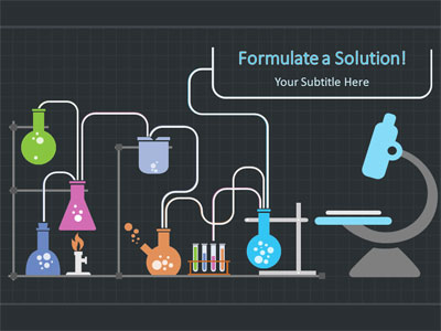Chemistry wave a powerpoint template from presentermedia toneelgroepblik Images