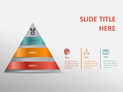 Ribbon Arrows Compare A Powerpoint Template From Presentermedia Com