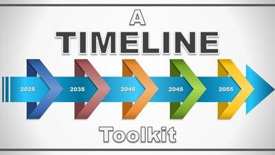 ID# 18407 - A Timeline PowerPoint Toolkit - PowerPoint Template