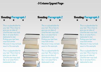 Reading exploration a powerpoint template from presentermedia toneelgroepblik Choice Image