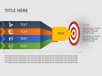 target goal a powerpoint template from presentermedia com