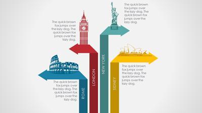 World Travel - A PowerPoint Template from PresenterMedia.com