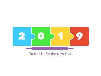ID# 19749 - New Year To Do List - PowerPoint Template
