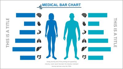 Medical infographic a powerpoint template from presentermedia toneelgroepblik Image collections