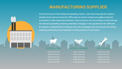 Supply chain toolkit a powerpoint template from presentermedia toneelgroepblik Choice Image