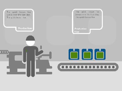Factory product process a powerpoint template from presentermedia toneelgroepblik Gallery