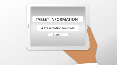 ID# 21068 - Tablet Information - PowerPoint Template