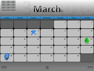 2018 interactive calendar a powerpoint template from 2018 interactive calendar a powerpoint template from presentermedia maxwellsz