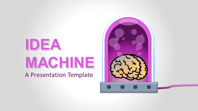 ID# 21289 - Idea Machine - PowerPoint Template