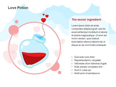 Chemistry love a powerpoint template from presentermedia toneelgroepblik Image collections