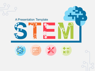 ID# 21467 - Stem Education - PowerPoint Template