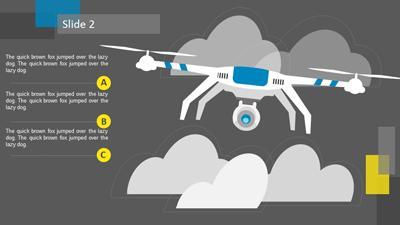 Drone Surveillance A Powerpoint Template From Presentermedia Com