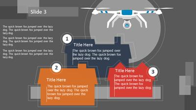 Drone Surveillance - A PowerPoint Template from