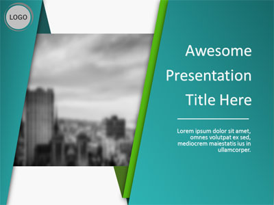 ID# 21678 - Abstract Wrap - PowerPoint Template