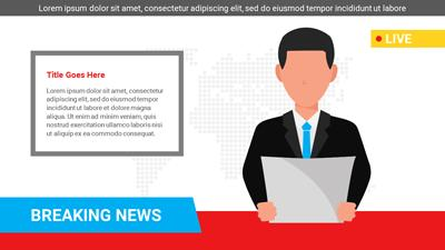 Breaking News A Powerpoint Template From Presentermedia Com