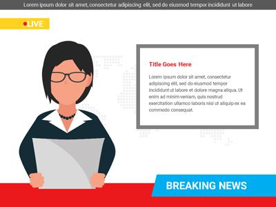 Breaking News A Powerpoint Template From Presentermedia