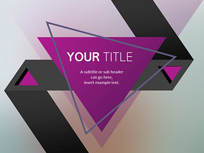 ID# 21770 - Shape Your Design - PowerPoint Template