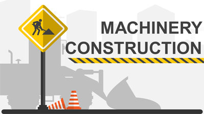 ID# 21871 - Machinery Construction - PowerPoint Template