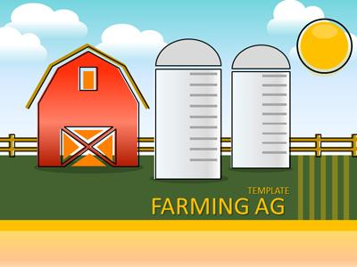 ID# 22033 - Farming And Ag - PowerPoint Template