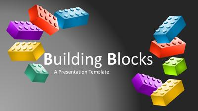 ID# 22060 - Building Blocks - PowerPoint Template