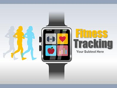 ID# 22277 - Fitness Tracking - PowerPoint Template