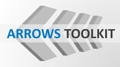 ID# 22775 - Arrows Diagram Toolkit - PowerPoint Template