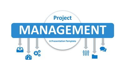 PowerPoint template project management thumbnail preview