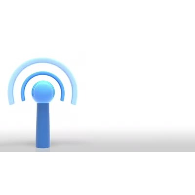 ID# 6188 - WIFI Wireless Internet Signal - Video Background