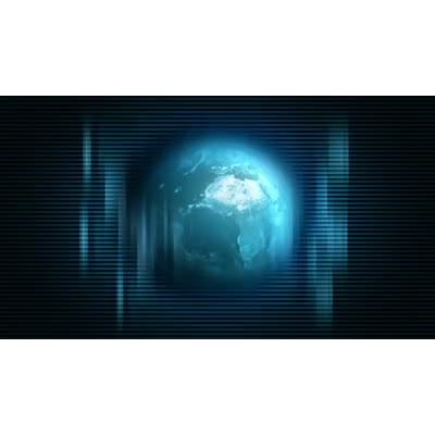 ID# 6202 - Digital World Revolving - Video Background
