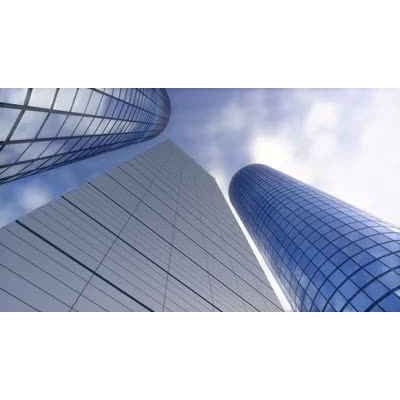 ID# 6204 - Business Cloud Skyscraper - Video Background