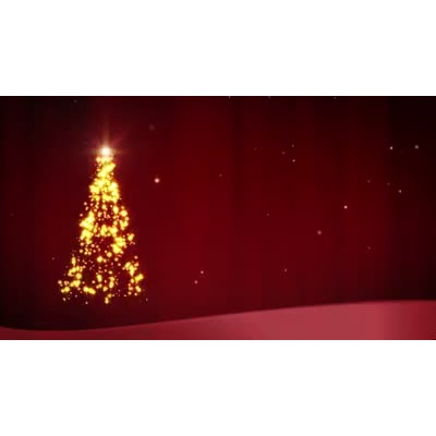 ID# 6896 - Christmas Glitter - Video Background