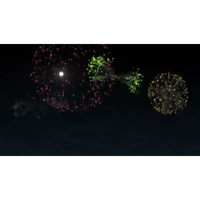 ID# 7086 - Fireworks Celebration - Video Background