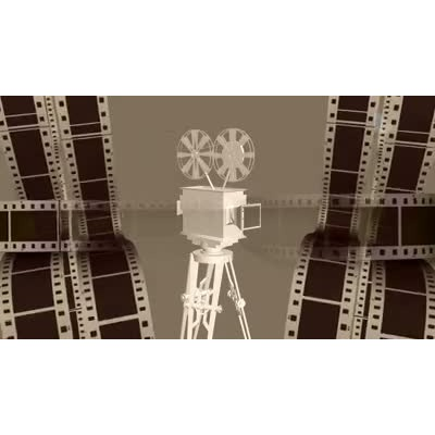 ID# 7168 - Classic Film - Video Background