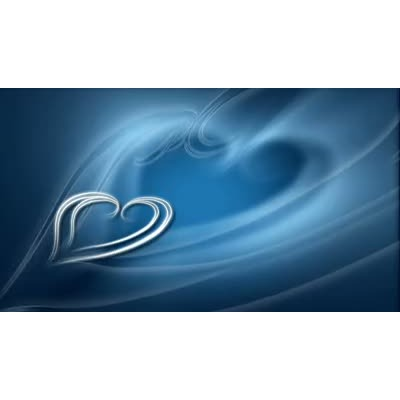ID# 7189 - Blue Hearts - Video Background
