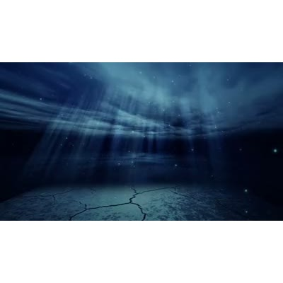 ID# 8048 - Underwater Scene - Video Background