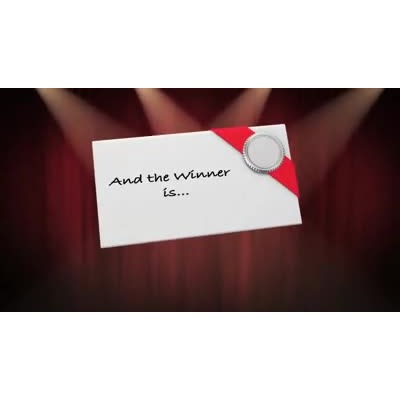 ID# 9700 - Envelope Please Text - Video Background