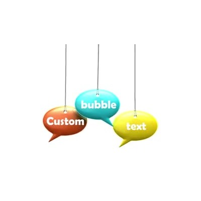ID# 9734 - Three Idea Bubble Text - Video Background