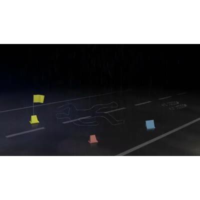 ID# 9988 - Crime Scene Investigation - Video Background