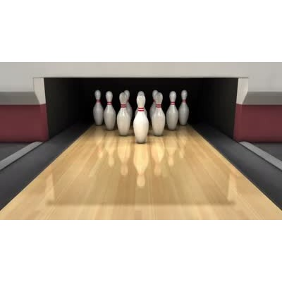 ID# 10053 - Bowling a Strike - Video Background