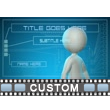 Future Interface Text PowerPoint Video Background
